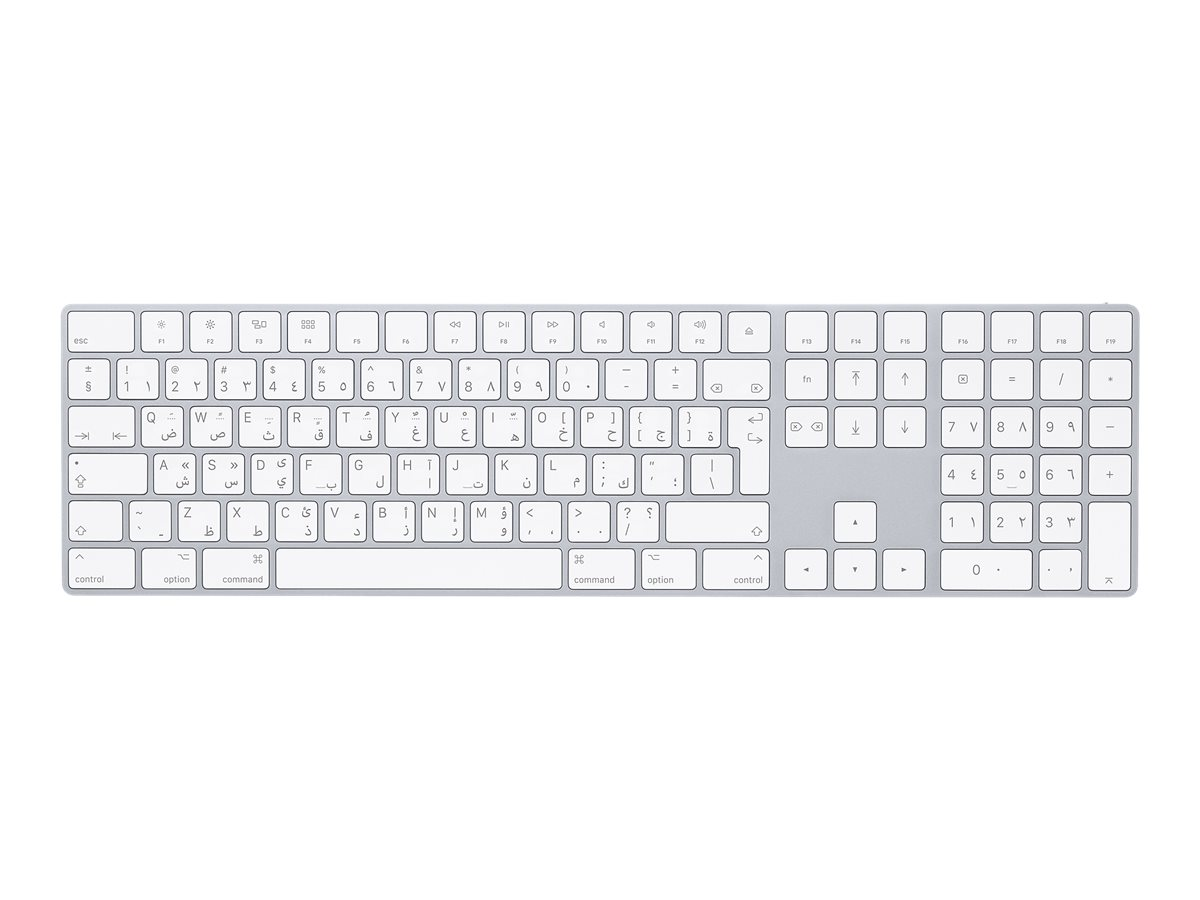 Apple Magic Keyboard with Numeric Keypad - Tastatur - Bluetooth - Schweiz