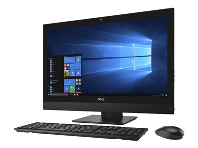 """Dell OptiPlex 7450 - All-in-one - 1 x Core i5 7500 / 3.4 GHz - RAM 8 GB - HDD 500 GB - DVD-Writer - HD Graphics 630 - GigE - WLAN: 802.11a/b/g/n/ac, Bluetooth 4.2 - Win 10 Pro 64-bit - vPro - monitor: LED 23"""" 1920 x 1080 (Full HD) touchscreen - Dell Smart Selection"""