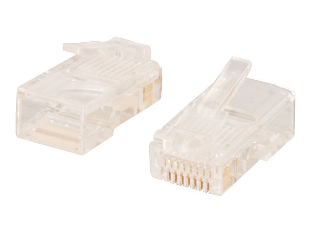 C2G network connector - transparent