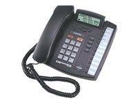 Mitel 9116LP Corded phone with caller ID/call waiting charcoal