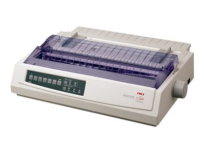 OKI Microline 321 Turbo Printer B/W dot-matrix 9 pin up to 435 char/sec parallel, USB