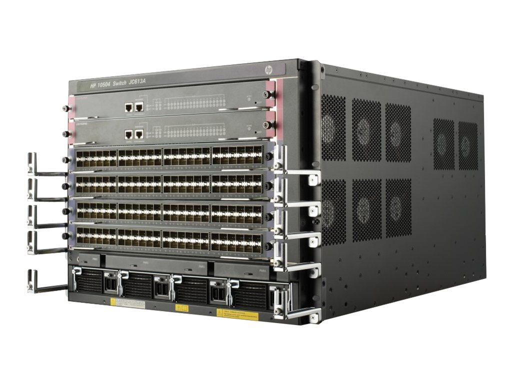 HPE FlexNetwork 10504 Switch Chassis - switch - rack-mountable