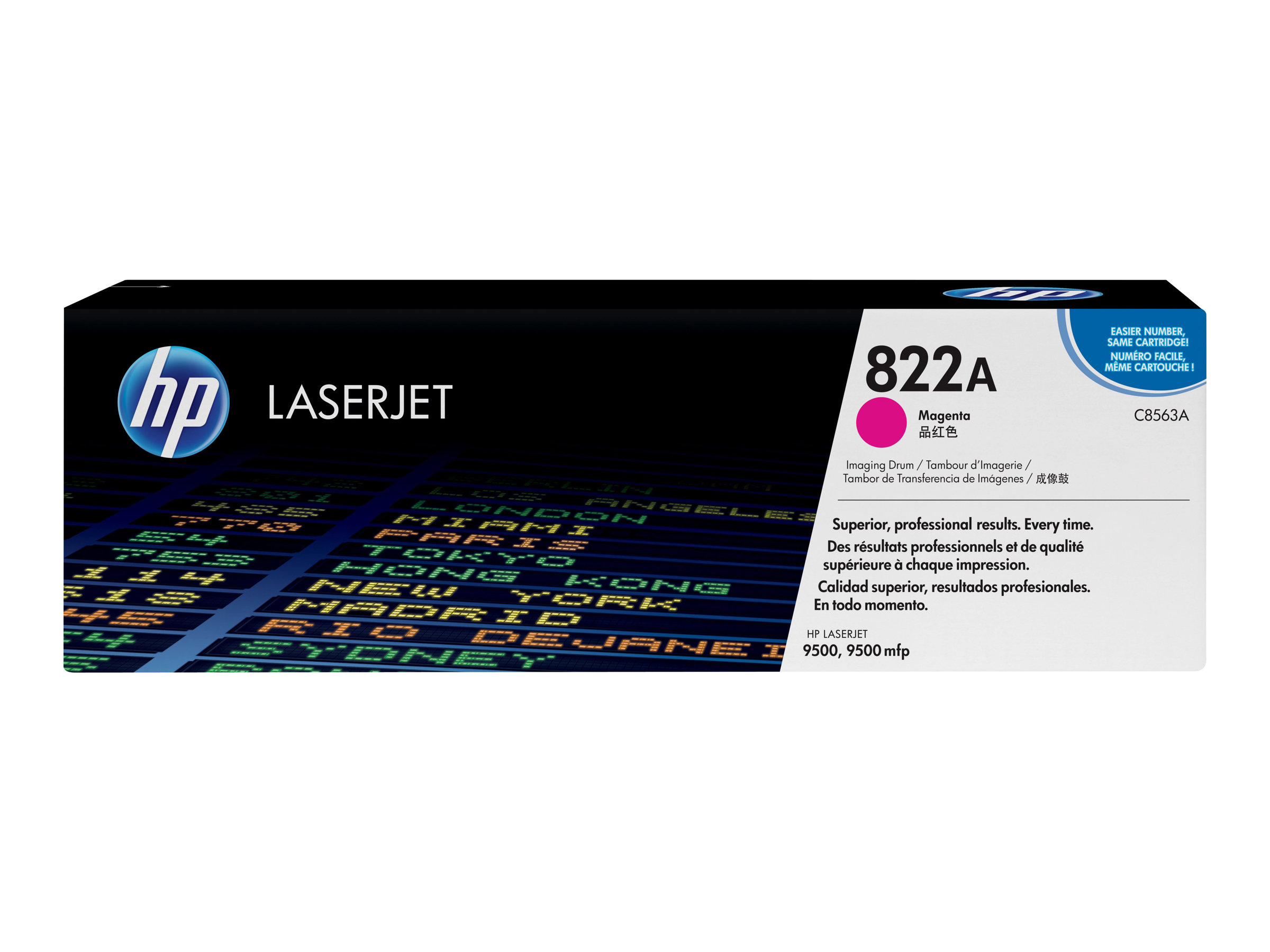 HP 822A - Magenta - Original - Trommel-Kit - für Color LaserJet 9500gp, 9500hdn, 9500mfp, 9500n