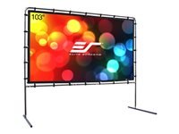 Elite Screens Yard Master Series OMS103HR Projection screen with legs rear 103INCH (103.1 in)