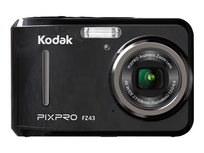 Kodak PIXPRO Friendly Zoom FZ43 Digital camera compact 16.15 MP 720p 4x optical zoom