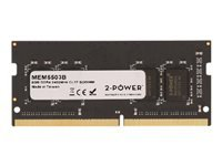 Picture of 2-Power - DDR4 - 8 GB - SO-DIMM 260-pin - unbuffered (2P-KCP424SS8/8)