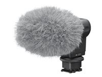 Sony ECM-XYST1M - Microphone - for Cyber-shot DSC-RX10; Handycam FDR-AX45; a6100; a6400; a6600; a7 III; a7R III; a9 II