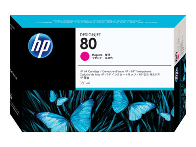 HP 80 350 ml magenta original DesignJet ink cartridge