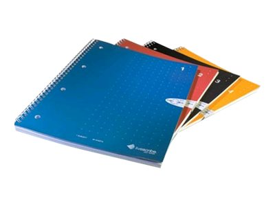 Livescribe Single subject notebook wire-bound 8.5 in x 11 in 100 sheets / 200 pages