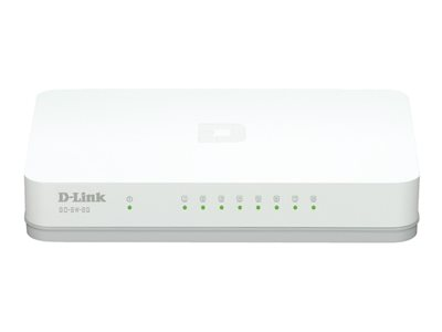 D-Link GO-SW-8G Switch 8-porte Gigabit