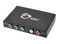 SIIG Component Video & Audio to HDMI Converter Video converter component video HDMI b