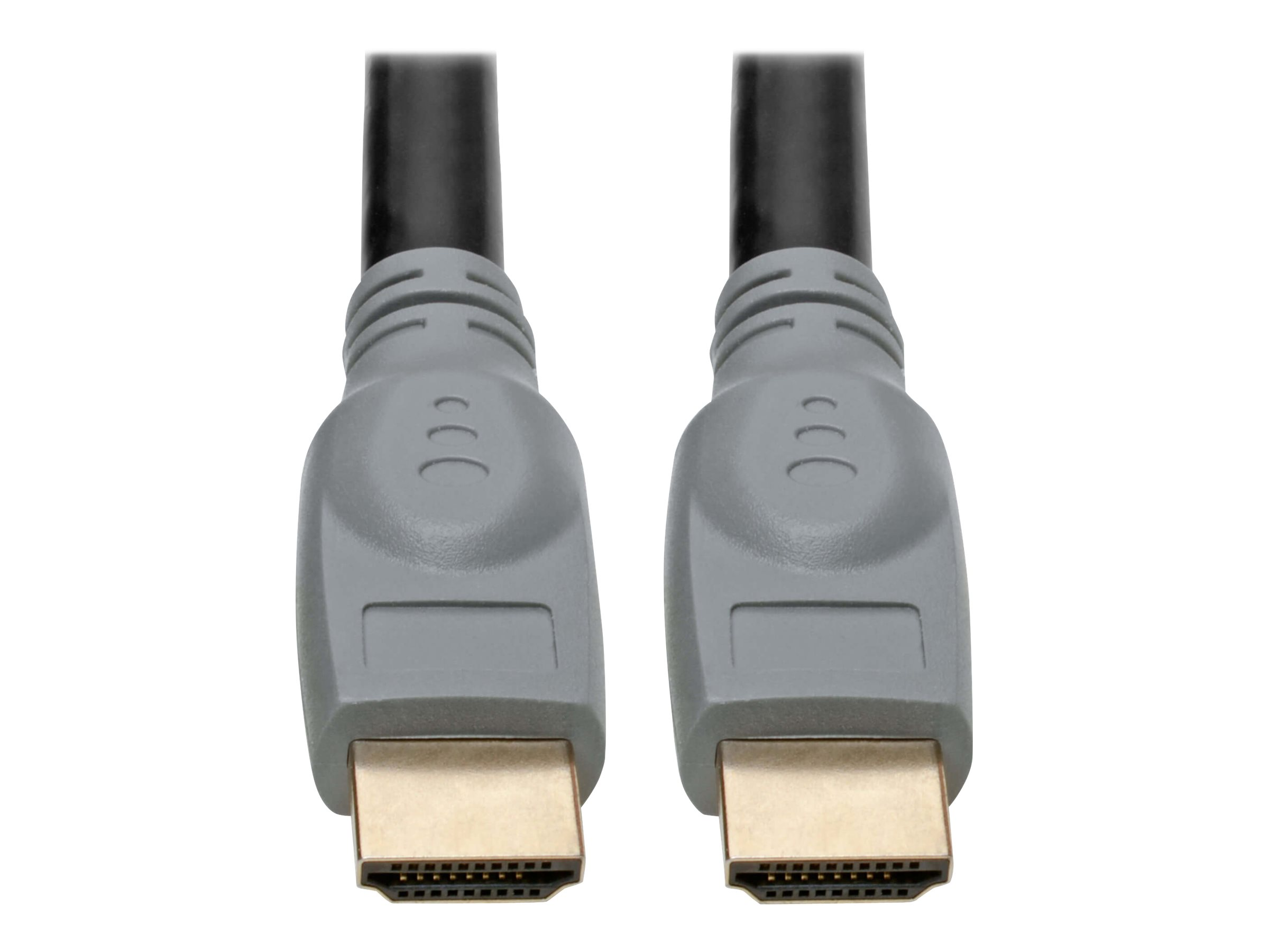 Tripp Lite High-Speed HDMI Cable with Gripping Connectors 4K 60 Hz 4:4:4 M/M Black 25ft - HDMI cable - 7.62 m