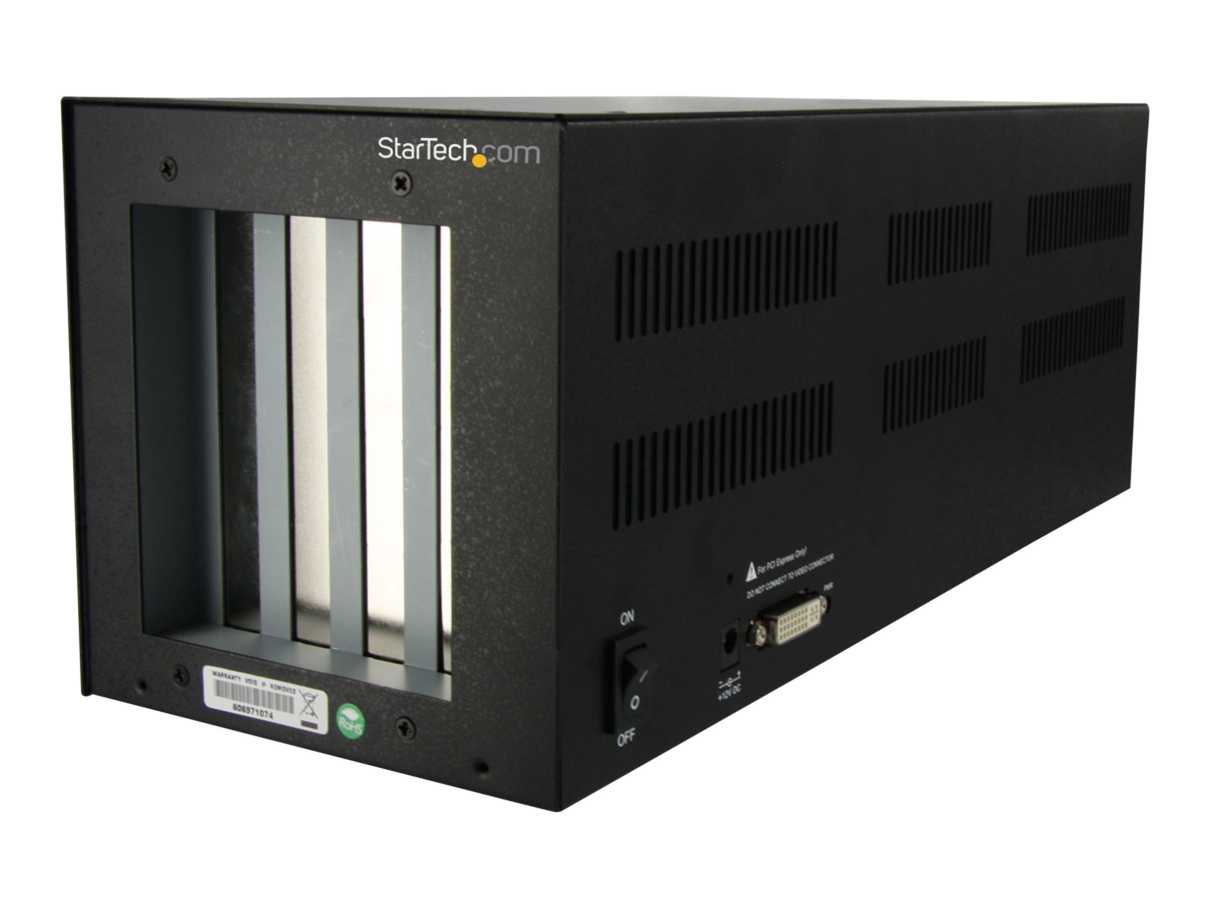 StarTech.com PCI Express to 2 PCI & 2 PCIe Expansion Enclosure System - Full Length (PEX2PCIE4L) - system bus extender