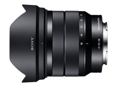 Sony SEL1018 - wide-angle zoom lens - 10 mm - 18 mm