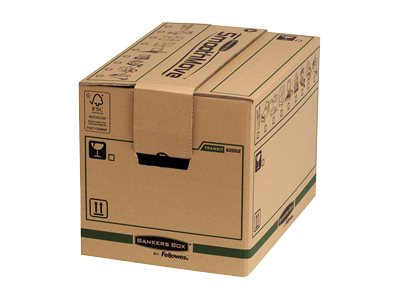 Caisses americaines Bankers Box SmoothMove FastFold Small - boîte d'expédition