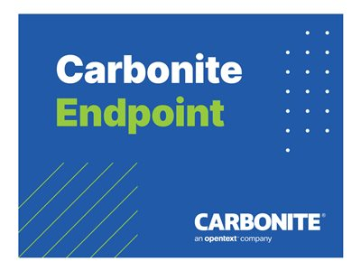 Carbonite Endpoint Azure EA Edition Subscription license (1 year) 1 additional seat hosted
