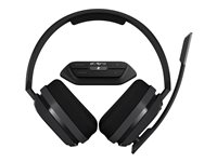 ASTRO A10 Headset full size wired 3.5 mm jack dark with Astro MixAmp M60