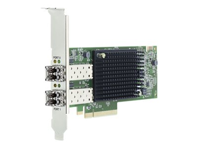 Emulex LPe35002 32Gb 2-port PCIe Fibre Channel Adapter - host bus adapter