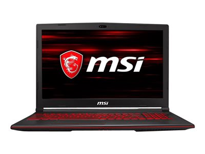 MSI GL63 8SE 15.6' I7-8750H 8GB 1.256TB RTX 2060 Windows 10 Home