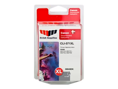 MMPS Grey Inkjet Cartridge (CLI-571GYXL)