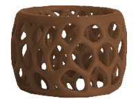 3D Systems - Brown - ABS filament (3D) - for 3D Systems CubePro, CubePro Duo, CubePro Trio