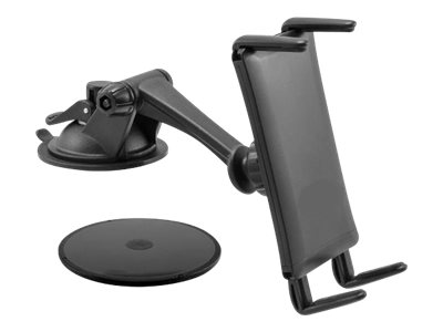 Compulocks Slim-Grip Ultra Sticky Suction Windshield or Dash Car Mount for Smart Phones and Mid Size Tablets - mounting…