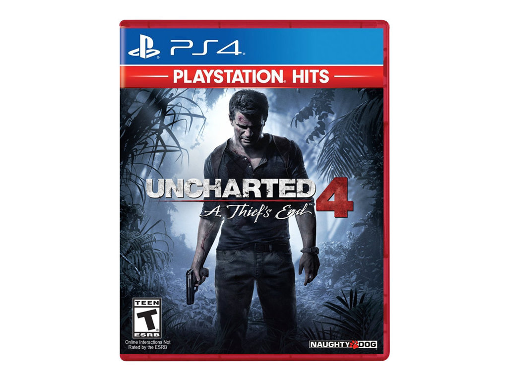 Uncharted 4: A Thief's End PlayStation Hits - Sony PlayStation 4