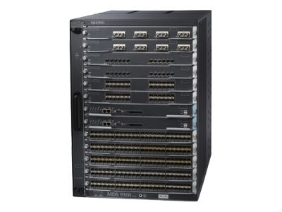 Cisco MDS 9513 Multilayer Director - switch - rack-mountable - with 2 x Cisco MDS 9500 Series Supervisor-2 Module