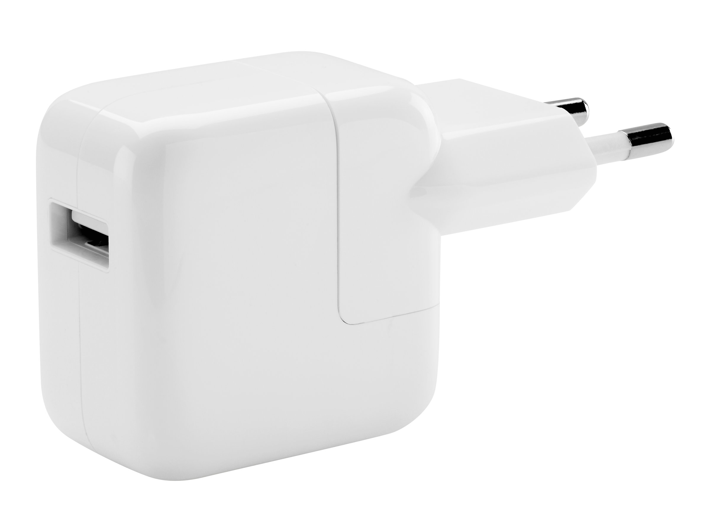 Apple 12W USB Power Adapter - Netzteil - 12 Watt - für 12.9-inch iPad Pro; 9.7-inch iPad; 9.7-inch iPad Pro; iPad mini 2; 4; iPhone 6s, SE