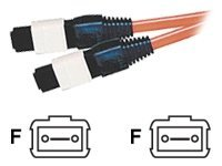 C2G 5m MTP/MPO 62.5/125 Multimode Fiber Optic Assembly Ribbon Cable - Plenum CMP-Rated - Orange - network cable - 5 m -…