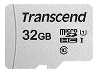 Transcend 300S - Carte mémoire flash - 32 Go - UHS-I U1 / Class10 - microSDHC