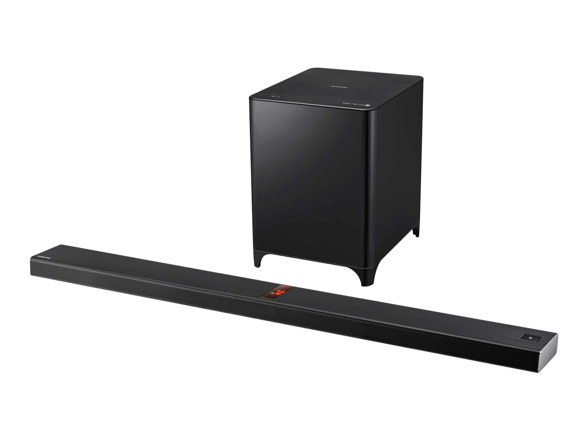 Samsung AirTrack HW-F850 - sound bar system - for home theater - wireless