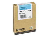 Epson T6055 110 ml light cyan original ink cartridge for St
