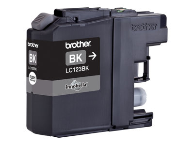 Brother LC 123BK Sort 600 sider