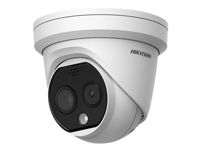 Hikvision DeepinView Temperature Screening Thermographic Turret Camera DS-2TD1217B-6/PA  image