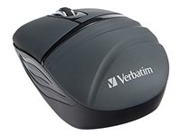 Verbatim Wireless Mini Travel Mouse Commuter Series mouse 3 buttons wireless 2.4 GHz