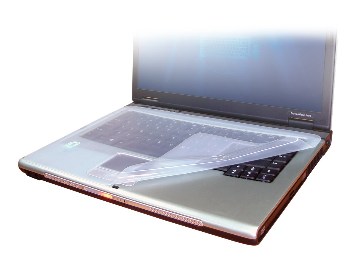 Man & Machine Laptop Drape notebook wrist rest and keyboard protection cover