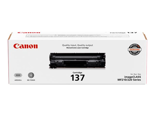 Canon 137 - black - original - toner cartridge