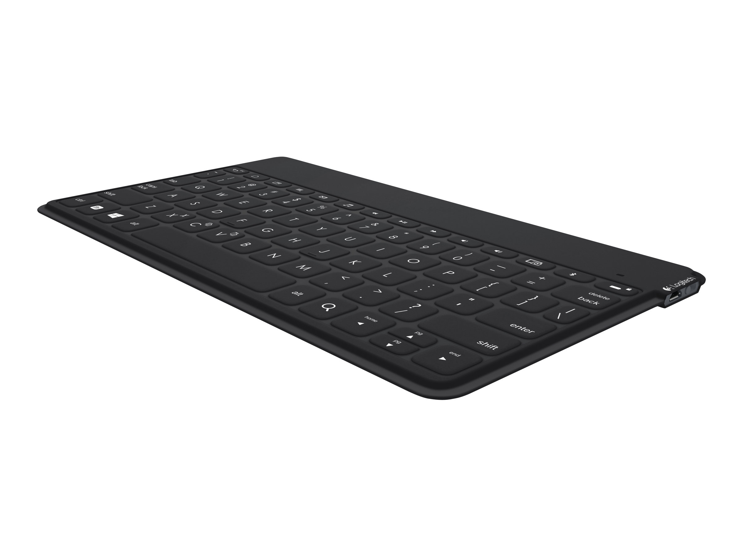Logitech Keys-To-Go - Tastatur - Bluetooth - Deutsch - wasserdicht - Schwarz