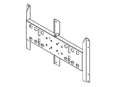 Peerless PLP NEC61 Mounting component (adapter plate) for flat panel black