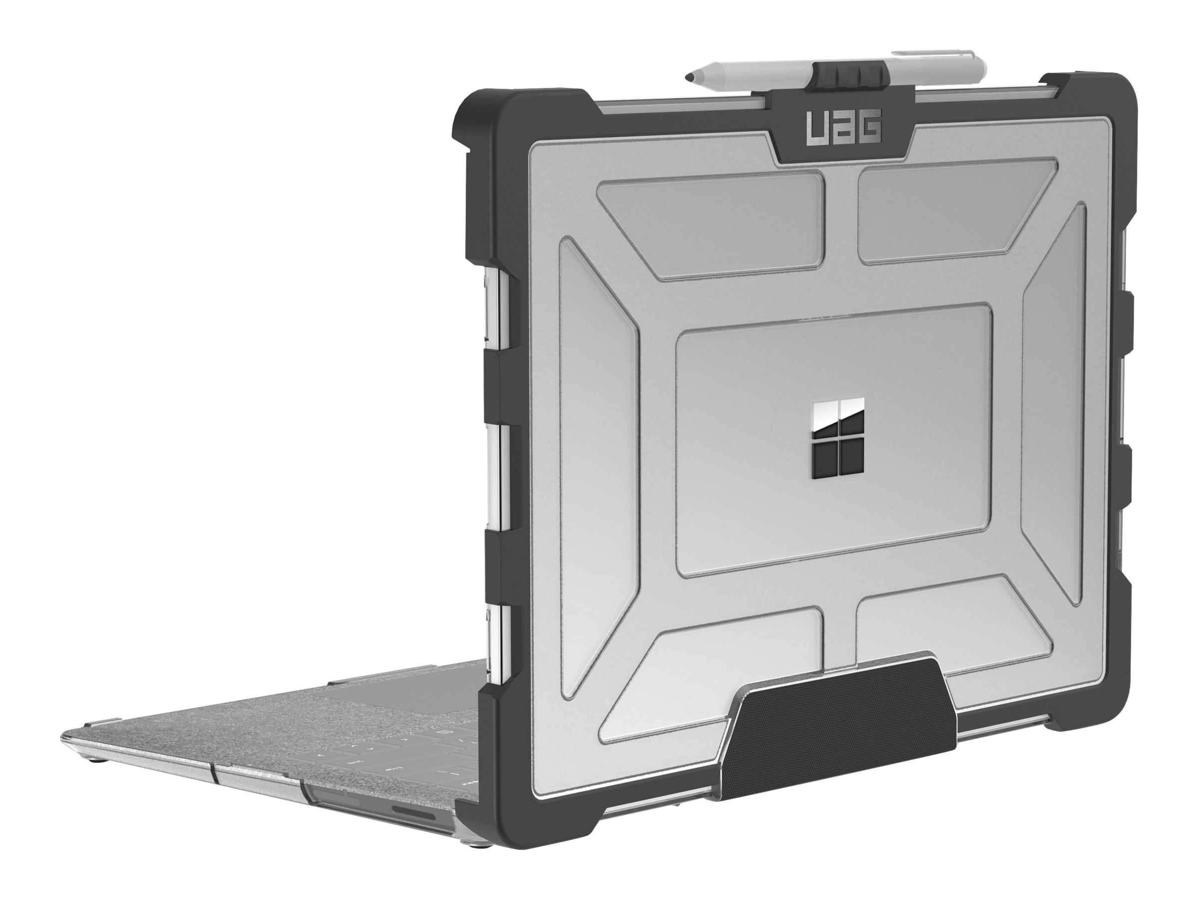 UAG Rugged Case for Surface Laptop 2 / Surface Laptop - Plasma Ice notebook top and rear cover