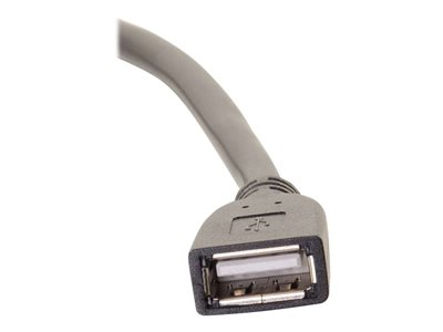C2G 75ft USB Extension Cable - USB 2.0 - Plenum Rated - M/F