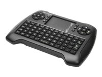 Kensington Handheld Wireless Keyboard Keyboard with touchpad, cursor control wireles