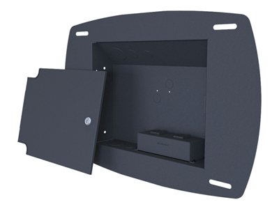 Premier Mounts INW-AM100 Mounting kit (front cover, in-wall enclosure, cable box) black