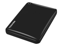 "Toshiba Canvio Connect II - Hard drive - 1 TB - external (portable) - 2.5"" - USB 3.0 - black - with 10GB free Cloud Backup"