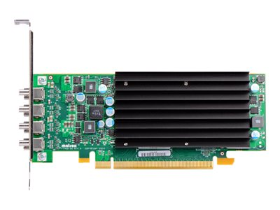 Matrox C420 LP Graphics card 4 GB GDDR5 PCIe 3.0 x16 low profile 4 x Mini DisplayPort