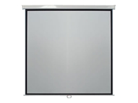 Metroplan Leader Manual Wall Screen - Projection screen - ceiling mountable, wall mountable - 1:1 - Matte White