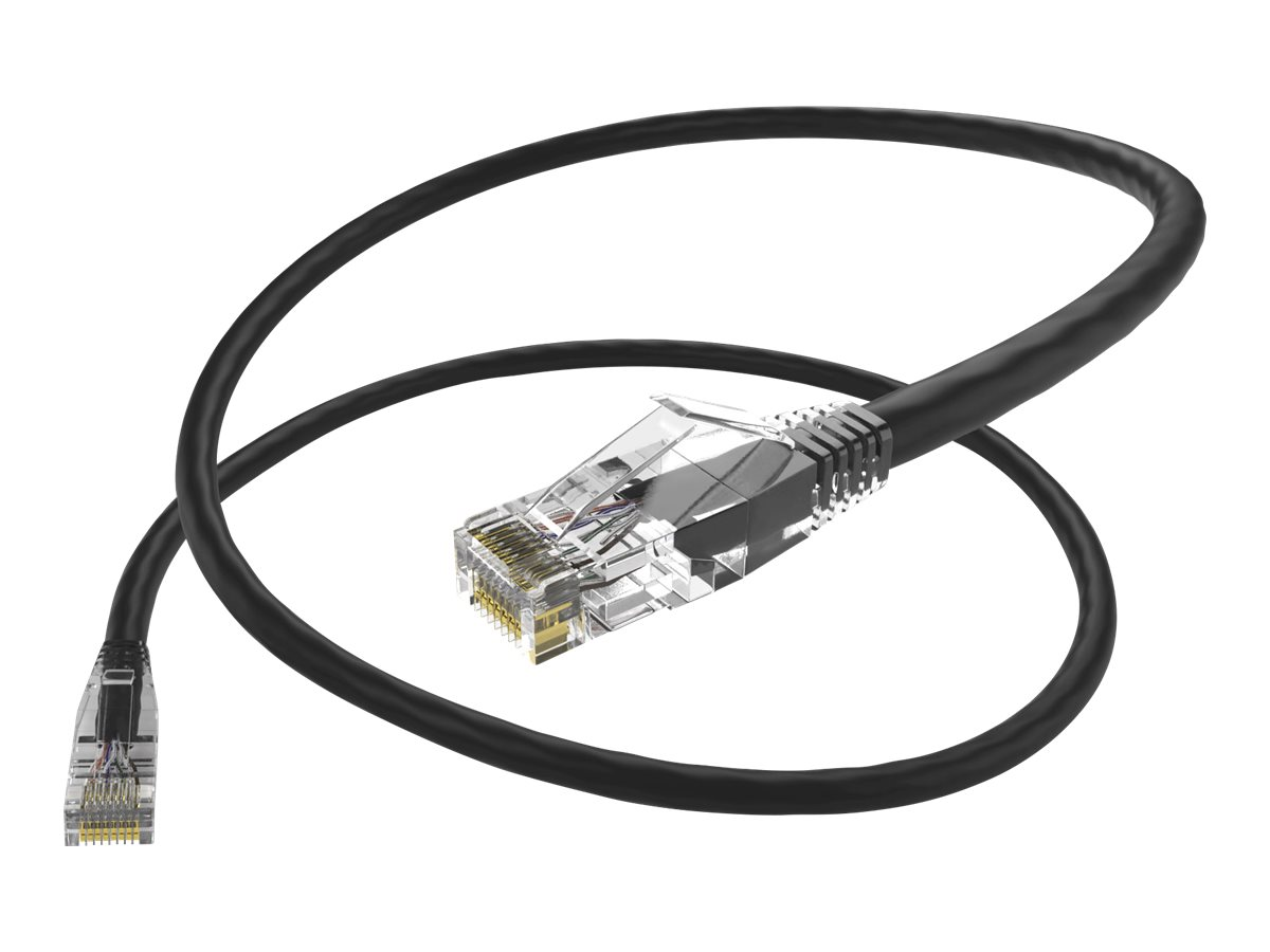 Oncore ClearFit patch cable - 7.6 m - black