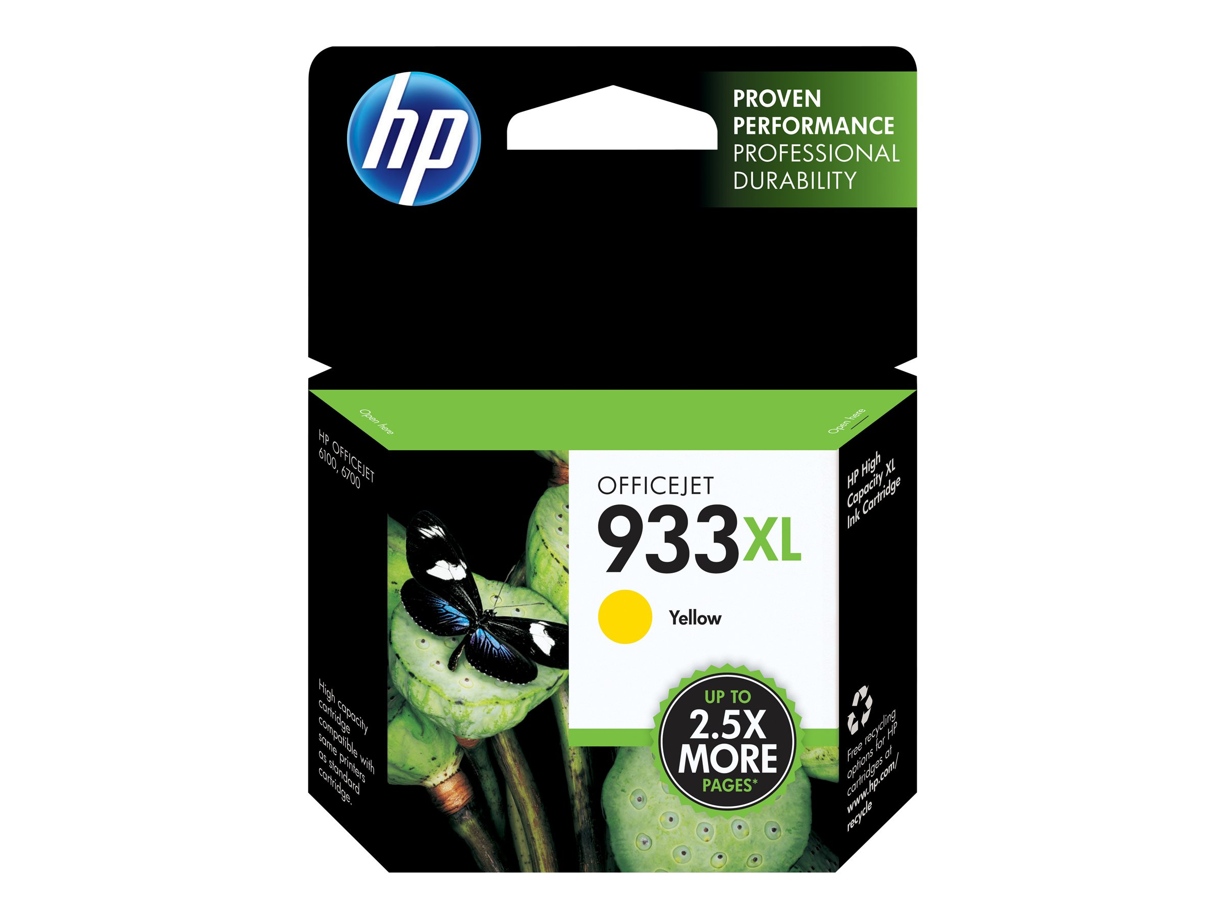 HP 933XL - High Yield - yellow - original - ink cartridge