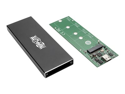 Tripp Lite USB 31 Gen 2 10 Gbps C To M2 NGFF SATA SSD B Key Enclosure Adapter With UASP Support